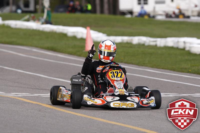 Bon début de saison en karting