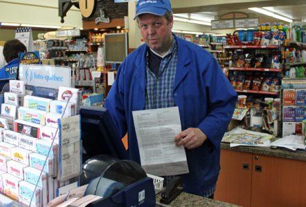 Travaux communautaires pour le vol de billets de loterie