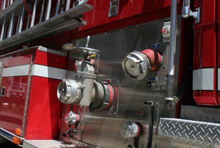 Incendie suspect à une scierie de Saint-Léonard