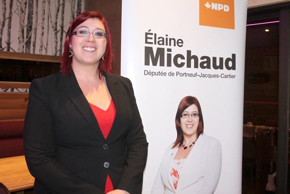 La députée Élaine Michaud met le cap sur 2015