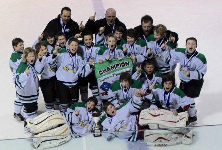 Les Condors grands champions à La Pérade