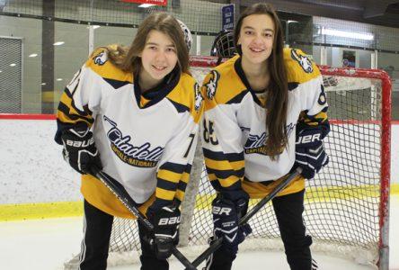 Hockeyeuses de Saint-Raymond aux Jeux du Québec
