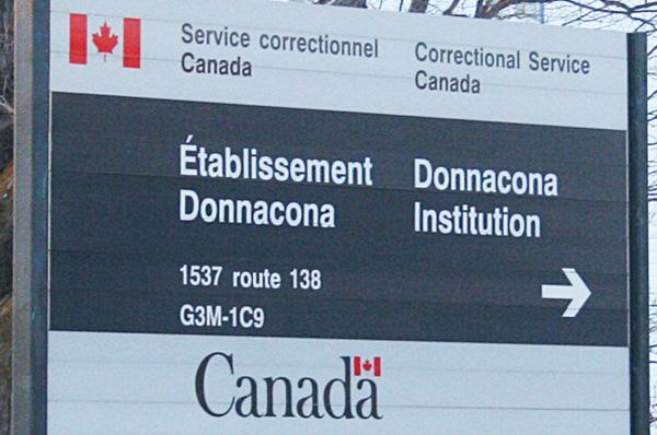 Saisies d'objets interdits à l'Établissement de Donnacona