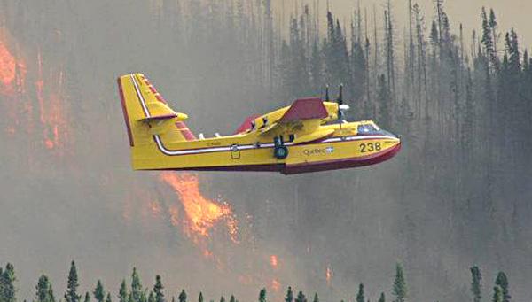 Interdiction de feux à ciel ouvert dans Portneuf et la Jacques-Cartier