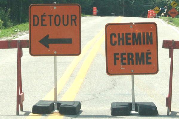 Un pont fermé jusqu'en novembre à Lac-Sergent