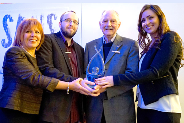 Le Prix Michael-Sheehan à «Sans toi»