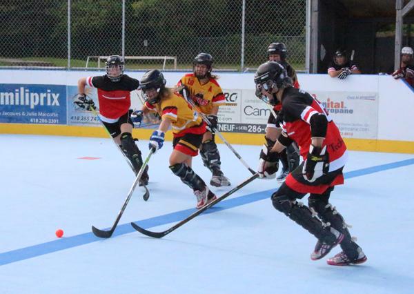 Championnat provincial de dek hockey à Portneuf - Courrier