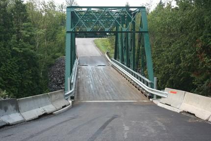 Pont fermé à Saint-Casimir lundi