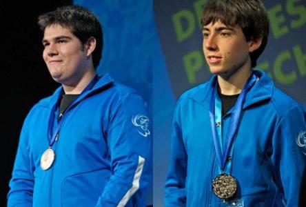 Deux étudiants de Saint-Raymond aux olympiades canadiennes