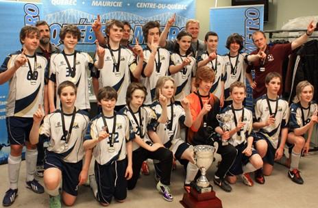 Suprématie de l'équipe U-14 de Portneuf au soccer