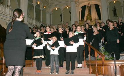 Le Chœur Allegro chante Noël