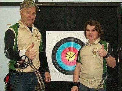 Les archers touchent la cible