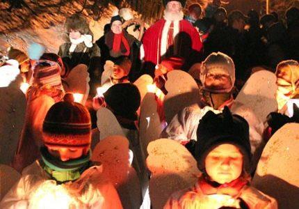 Le Noël d'antan en images