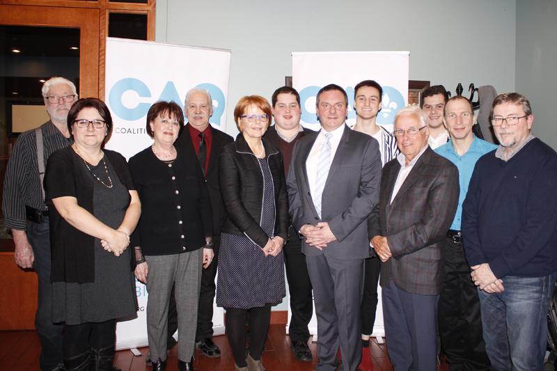 Vincent Caron, de la CAQ, dévoile son «équipe du changement»