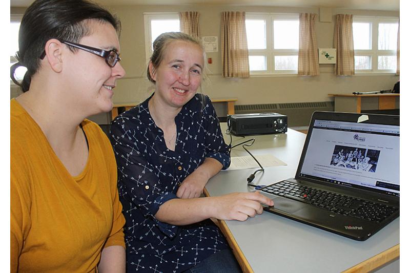 Un site Web pour le Centre femmes