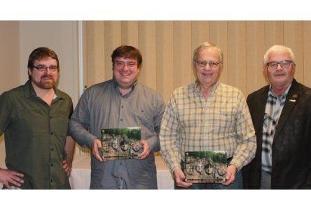 Des maires fondateurs du Parc naturel de Portneuf honorés