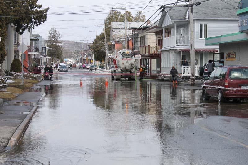 De l'aide pour les citoyens en cas d'inondation à Saint-Raymond