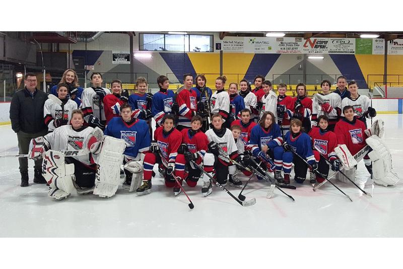 Hockey: la participation mise de l'avant à Saint-Raymond
