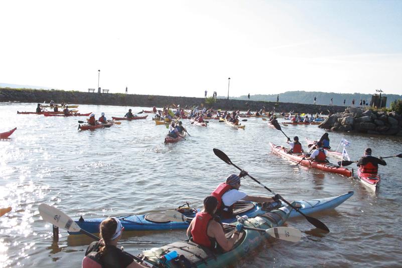 Le Défi kayak 2018 a fait une dernière escale à Portneuf