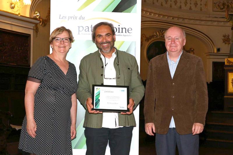 Prix du patrimoine: Portneuf se distingue à Lévis