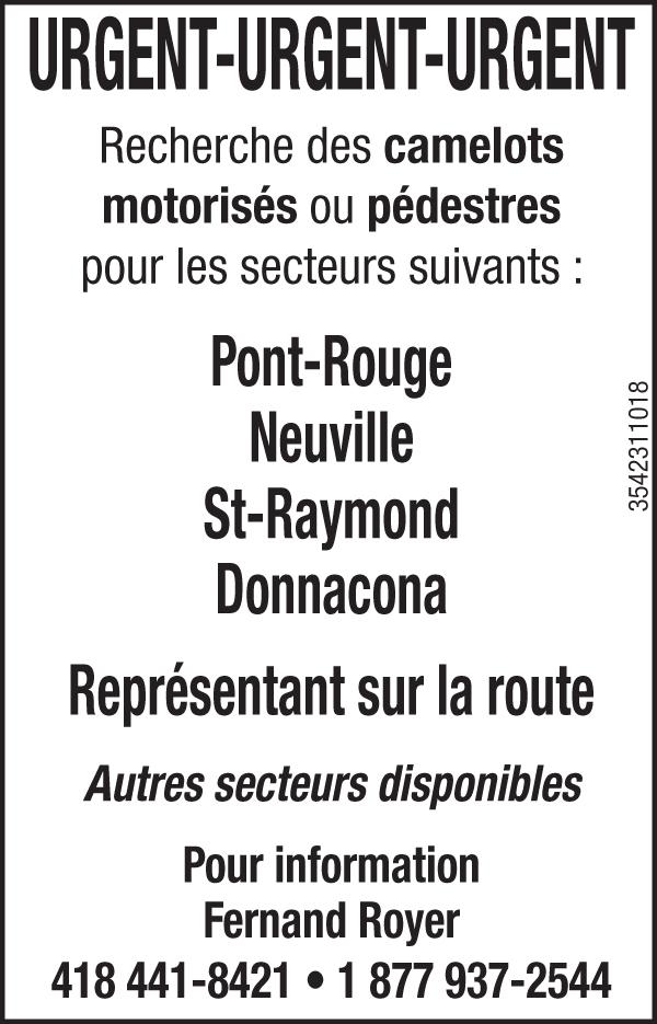 Logo de Camelots motorisés ou pédestres