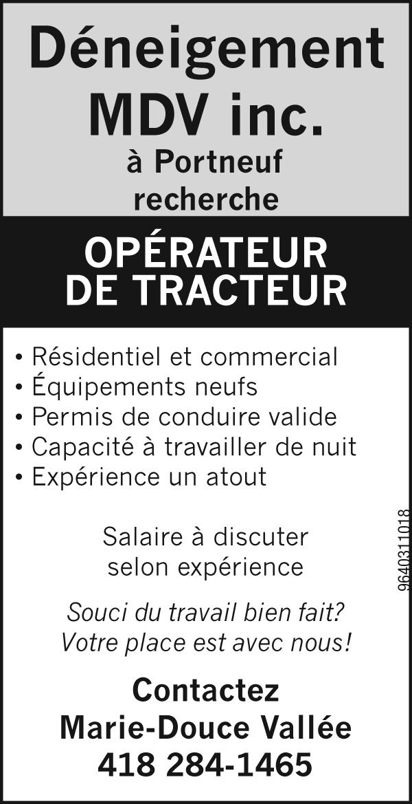 Logo de Opérateur de tracteur