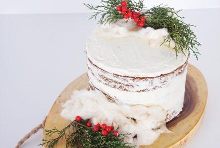 Gâteau aux carottes version de Noël…