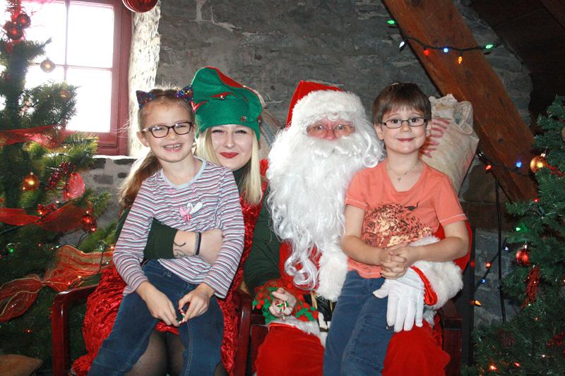 Premiers éclats de la féérie de Noël au Moulin Marcoux