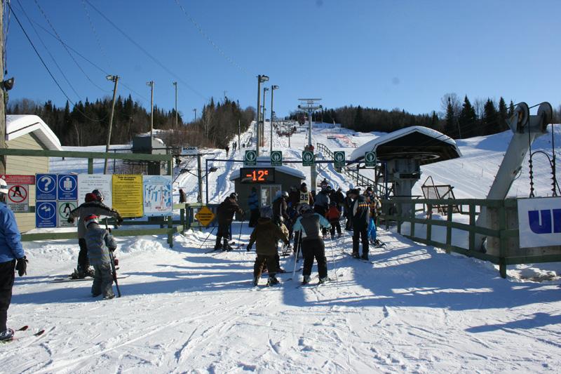 La Station Ski Saint-Raymond ouvre ce matin