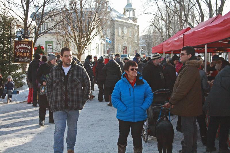 Noël au village, un succès à Deschambault
