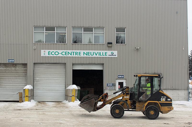 Écocentre de Neuville: la Régie prend la gestion et investira 1 M$