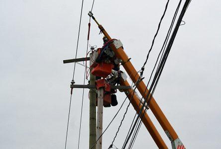 Nombreuses pannes d'électricité