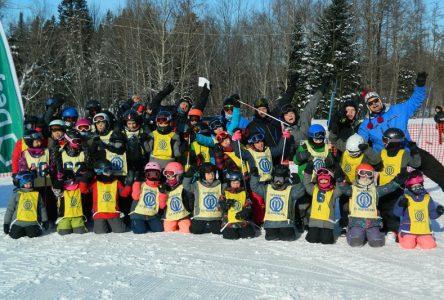 Compétition amicale à la station Ski Saint-Raymond
