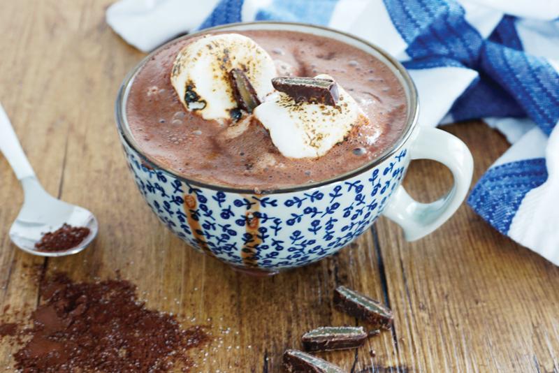 Le meilleur chocolat chaud…