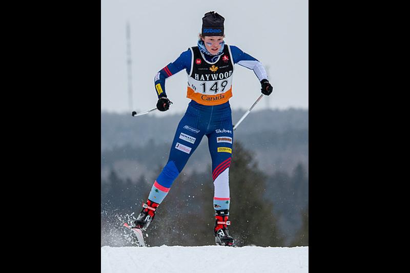 Virginie Magnan aux Jeux du Québec