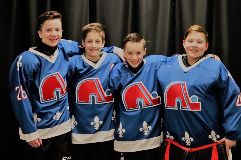 Quatre Portneuvois au tournoi pee-wee de Québec