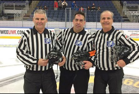 Trio d'arbitres portneuvois à Québec