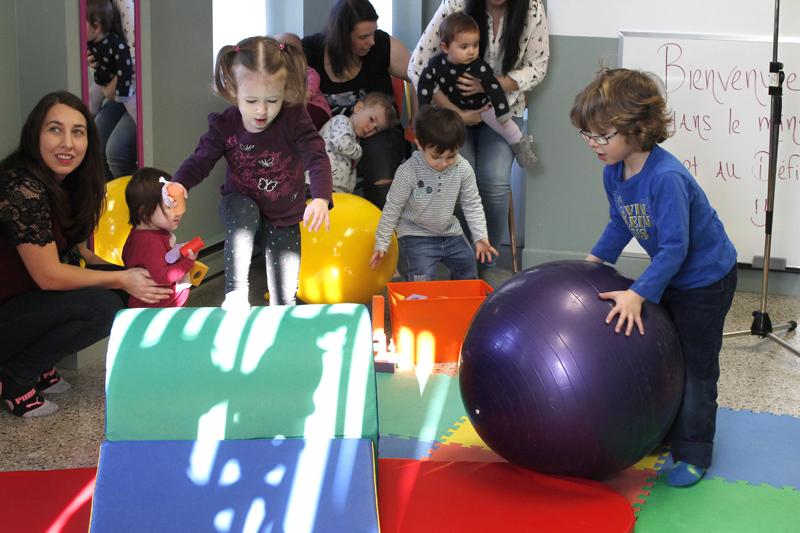 Un mini-gym pour les bambins de Saint-Casimir
