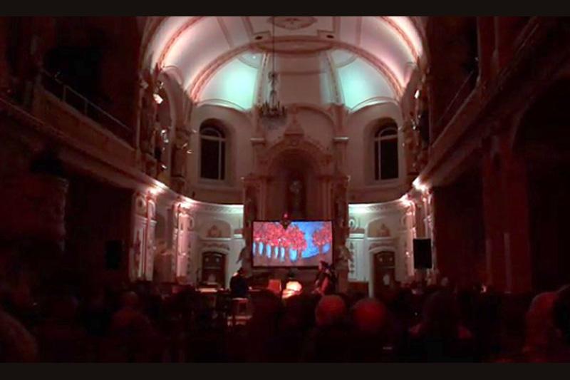 Spectacle envoûtant à l'église de Deschambault