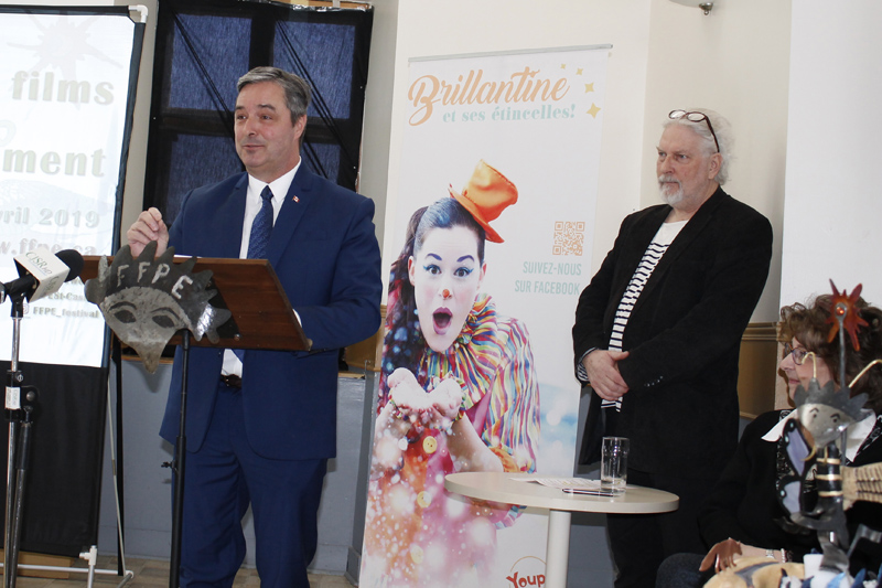 Léo-Denis Carpentier honoré par la Francophonie