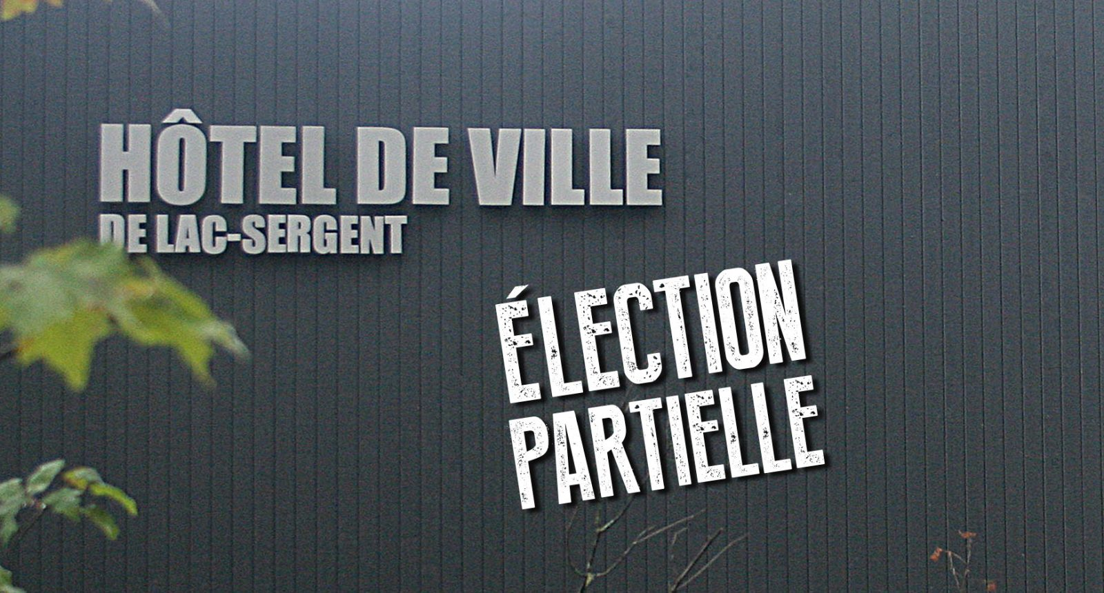 Diane Pinet élue à Lac-Sergent
