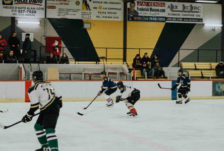 Le Championnat de hockey adulte est commencé à Saint-Raymond