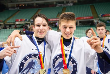 Le hockeyeur Guillaume Richard gagne l'or aux Jeux du Canada