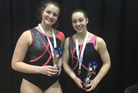 Gymnastes championnes à la Coupe Québec