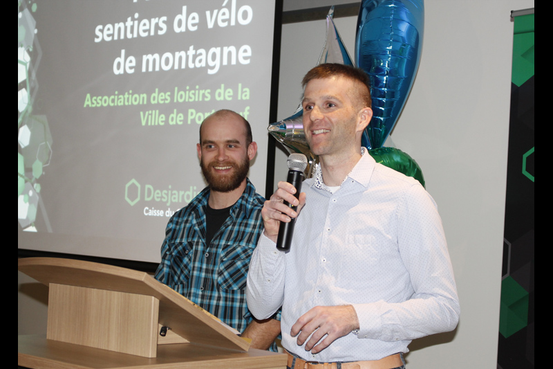 Vélo de montagne: Portneuf veut relier Saint-Basile