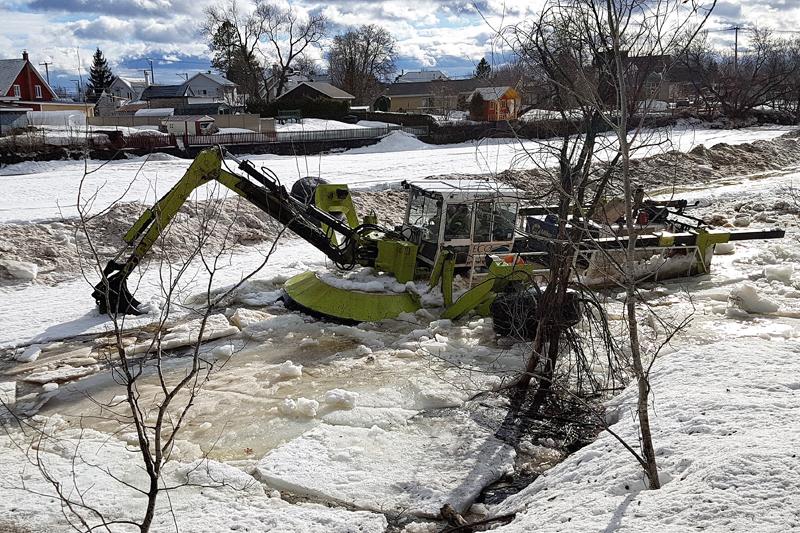 Saint-Raymond se prépare à une inondation