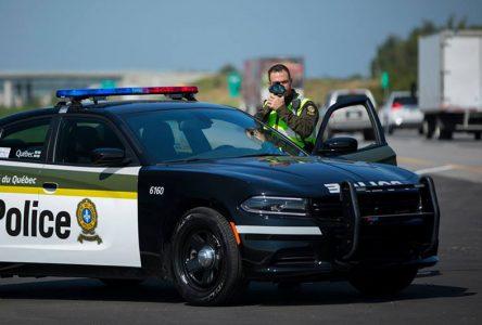 Les policiers ont les automobilistes à l'oeil