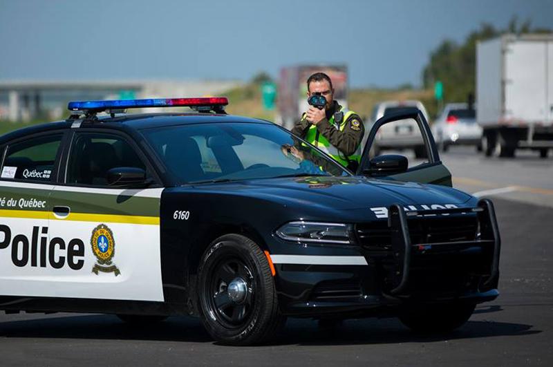 Présence policière accrue sur les routes