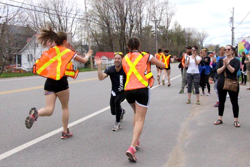 5800 coureurs sur la route 138 samedi