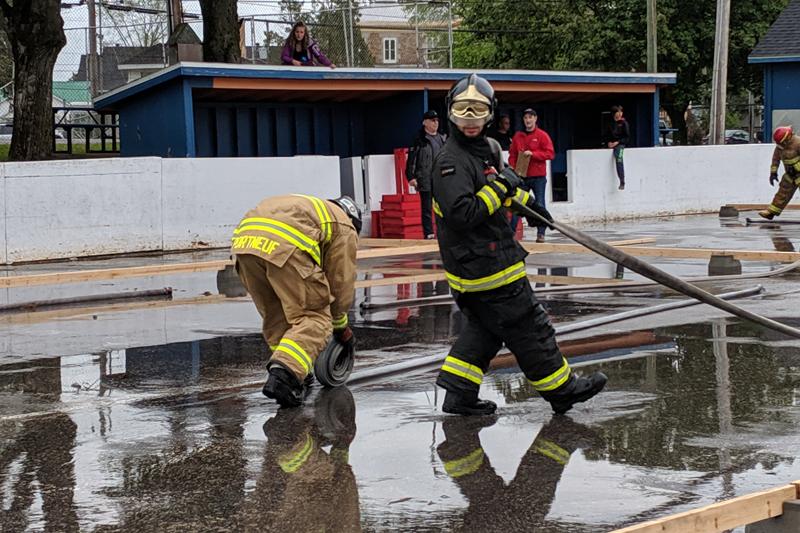 Saint-Marc gagne au Festival des pompiers